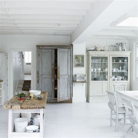 white shabby chic kitchen modern kitchens 10 decorating ideas housetohome co uk
