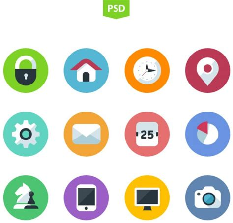 flat design icon download flat icons design psd psd file free download