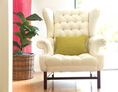 upholstery tutorial chair how to paint upholstery old fabric chair gets beautiful