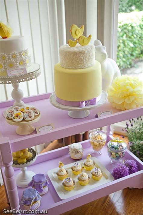 Purple And Yellow Baby Shower Themes by 1000 Ideas About Yellow Baby Showers On Gray