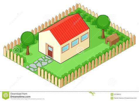 isolated house isolated house stock photos image 29198643