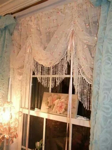 shabby chic door curtain curtains home decor that i love pinterest cottages