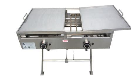 piastre per cucinare a gas piastra di cottura in acciaio inox mibos