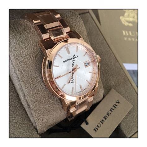 Burberry Bb010 Rosegold F 57 burberry accessories sale burberry 34mm gold plated city from ginny s