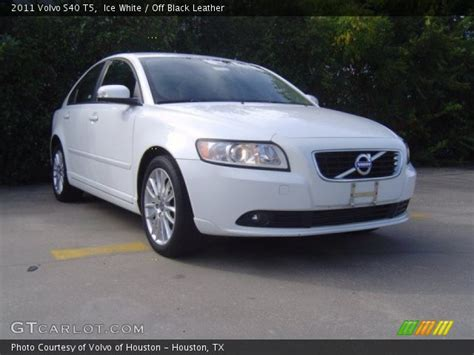 ice white  volvo    black leather interior gtcarlotcom vehicle archive