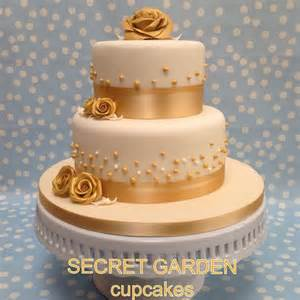 pin gold and ivory 3 tier wedding cake featuring fresh flower cake on pinterest
