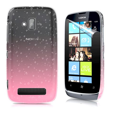 Casing Hp Lumia 610 3d drop design cover for nokia lumia 610 screen protector ebay
