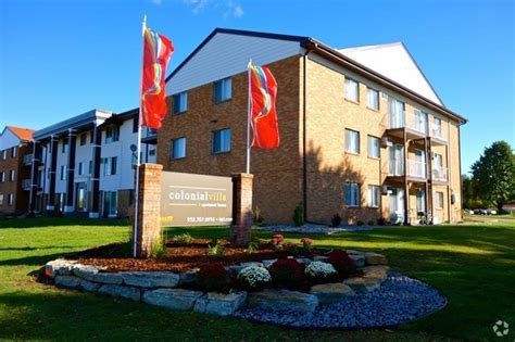 Colonial Appartments by Winchester Apartments Rentals Rochester Mn Apartments