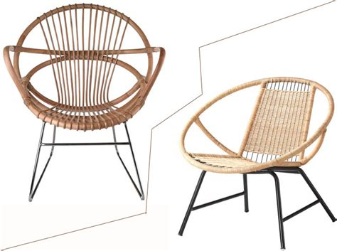 chaise en rotin ikea 1 objet 2 budgets le fauteuil en rotin de pols potten