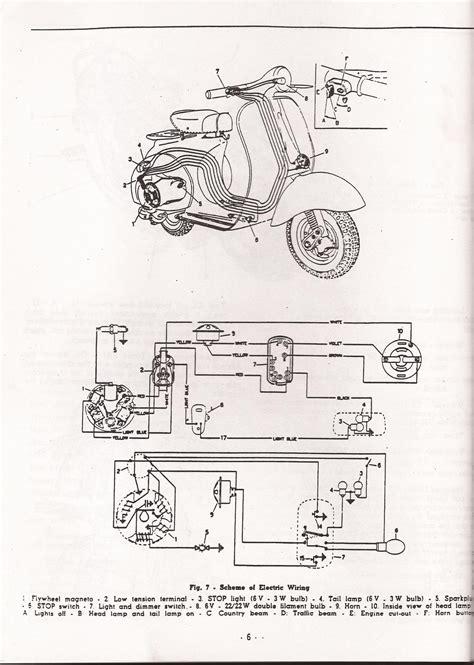 1954 allstate scooter wiring diagram schematic wiring