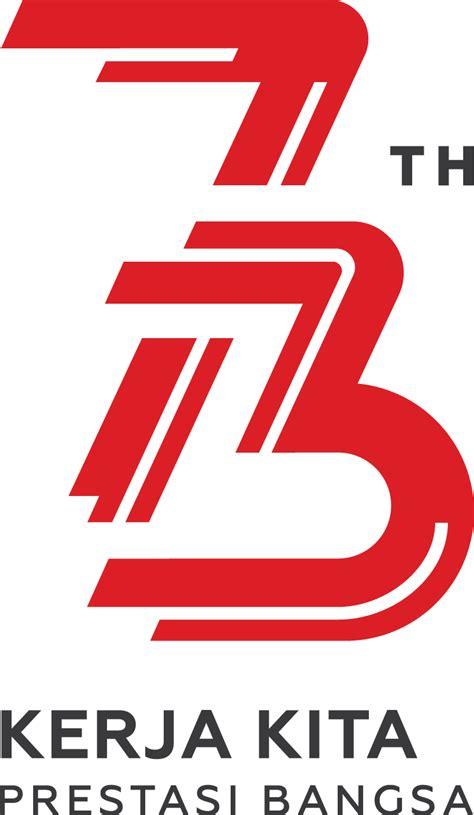 logo resmi peringatan hut ri      design