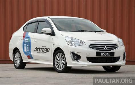 mitsubishi attrage 2015 mitsubishi drive me eco deals up to rm6k rebate