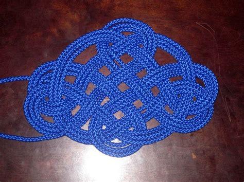 1 inch hemp mat three pass kringle mat with one strand of 1 4 inch
