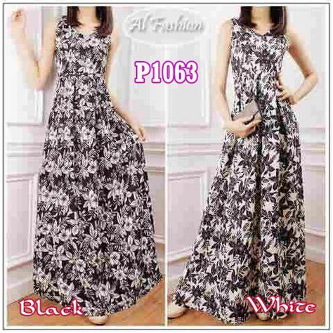 Dress Sifon Wedges Motif Bunga baju dress model belanda via bbm gaun remaja