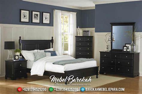 kamar tidur set minimalis jati hitam murah mewah terbaru