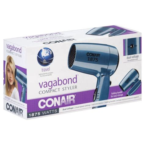 Conair Vagabond Hair Dryer upc 074108007469 conair vagabond styler compact 1875