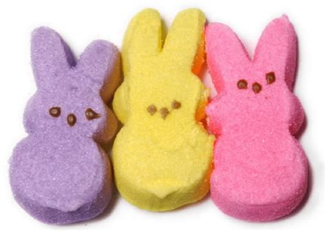 fun facts favorite easter candy marshmallow peeps groceries cart