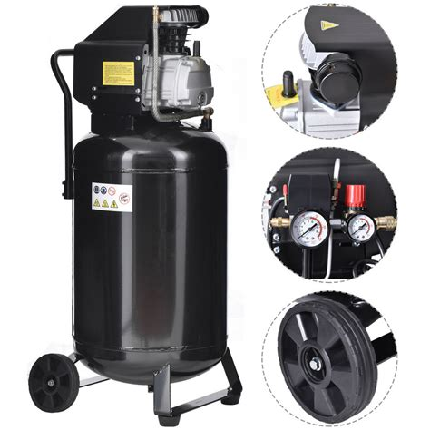 21 gallon 125 psi vertical air compressor cast iron 2 5hp motor portable new ebay