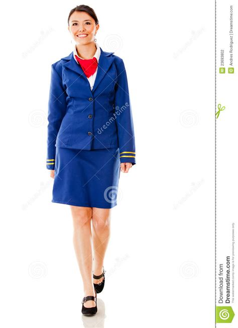 Flight Attendant Background Check Flight Attendant Walking Stock Photography Image 23693802
