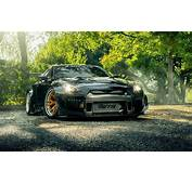 Download Wallpapers Park Tuning Nissan Gt R R35