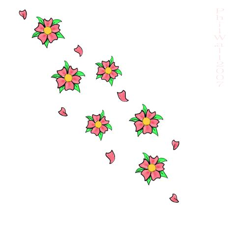 awful cherry blossom tattoo design