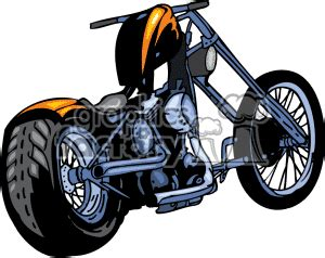 Motorrad Chopper Arten by Choppers Clipart Clipground