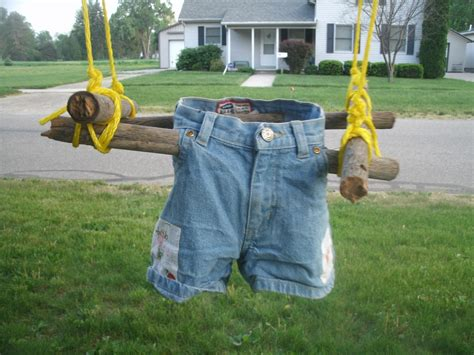 swings kids diy toddler swing from recycled materials lazy hippie mama