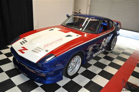 datsun race car 1978 nissan 280z vintage race car local winner nitrous