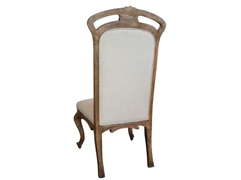 style antique wood frame dining chair