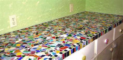 Carrelage Pour Plan De Travail Cuisine 1375 by Mosaic Countertop Mosaics Chalet Et Cuisines