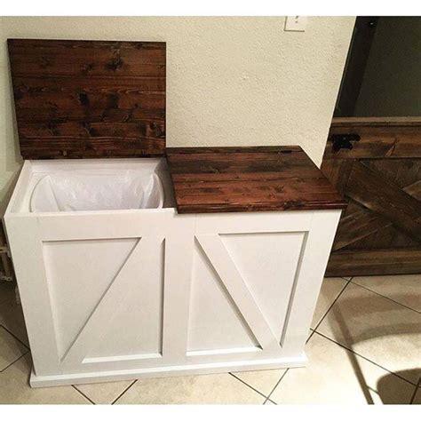 hidden trash can cabinet hidden trash can cabinet 25 best kitchen trash cans ideas