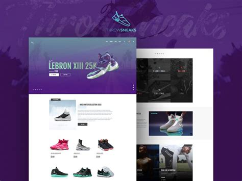 shoe templates for photoshop ecommerce shoe store website template free psd download