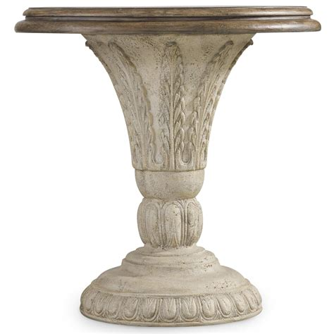 hooker accent tables hooker furniture solana round accent table with fauna