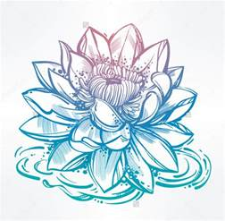 Draw A Lotus Flower 40 Drawing Designs Sketches Design Trends Premium