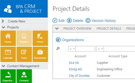 project details project management software bpa solutions