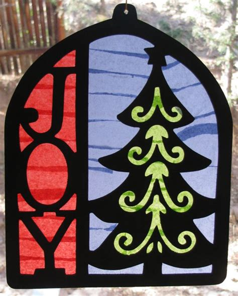 Stained Glass Paper Craft - 123 best crafts tissue paper stained glass