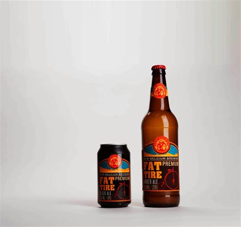 fat tire beer redesigned student project  packaging   world creative package design