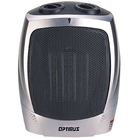 Small Heater Walmart Optimus Electric Portable Ceramic Heater With Thermostat