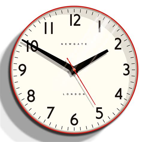 cool wall clock red wall clocks australia