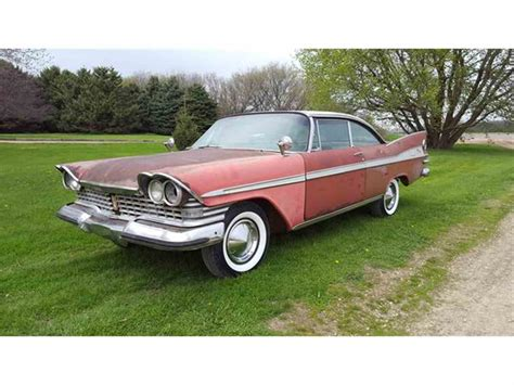 plymouth fury 1959 1959 plymouth sport fury for sale classiccars cc