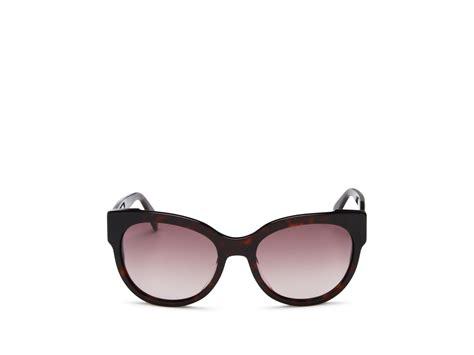 Marc Jacob Cat Eye Black lyst marc by marc cat eye sunglasses in black
