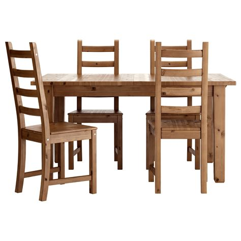 Storn 196 S Table And 4 Chairs Stornas Dining Table