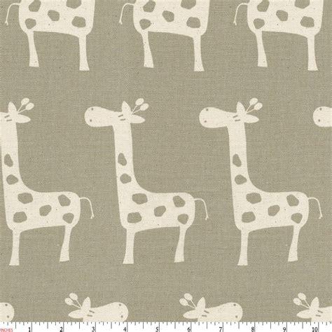 giraffe upholstery fabric taupe giraffe fabric by the yard
