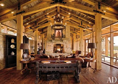 rustic room rustic living room by hks inc ad designfile home