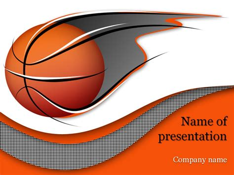 powerpoint themes basketball basketball powerpoint template background for presentation