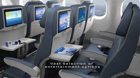 Air Transat A330 Interior by Air Transat New Cabin Featuring In Flight Entertainment