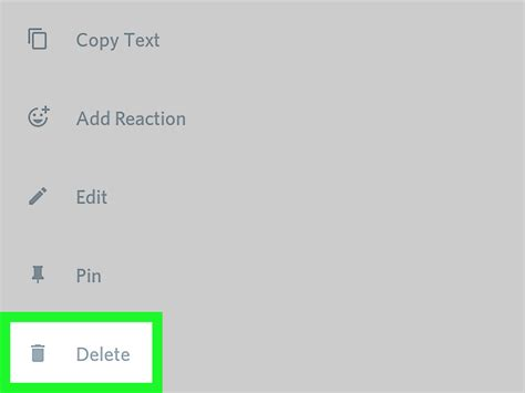 discord delete account how to delete a message in discord on android with pictures