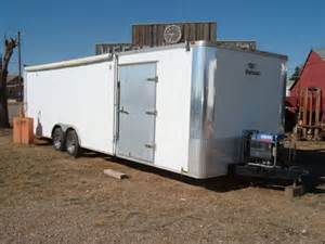 28 vintage enclosed race car trailer for sale in odessa tx