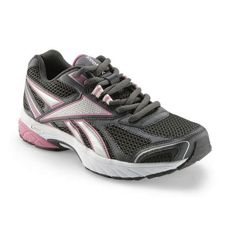 wide width athletic shoes reebok s pheehan running athletic shoe black pink
