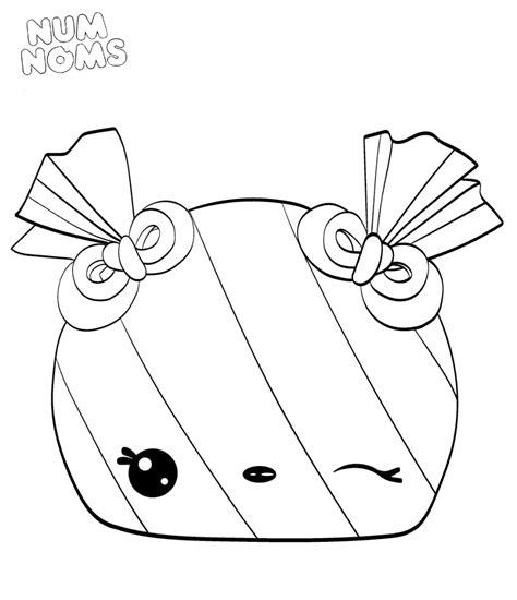Coloring Page Num Noms by Peyton Free Coloring Pages